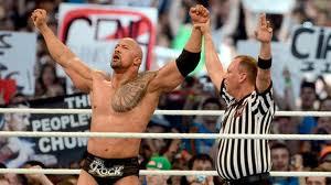 john cena vs rock wrestle mania 2012