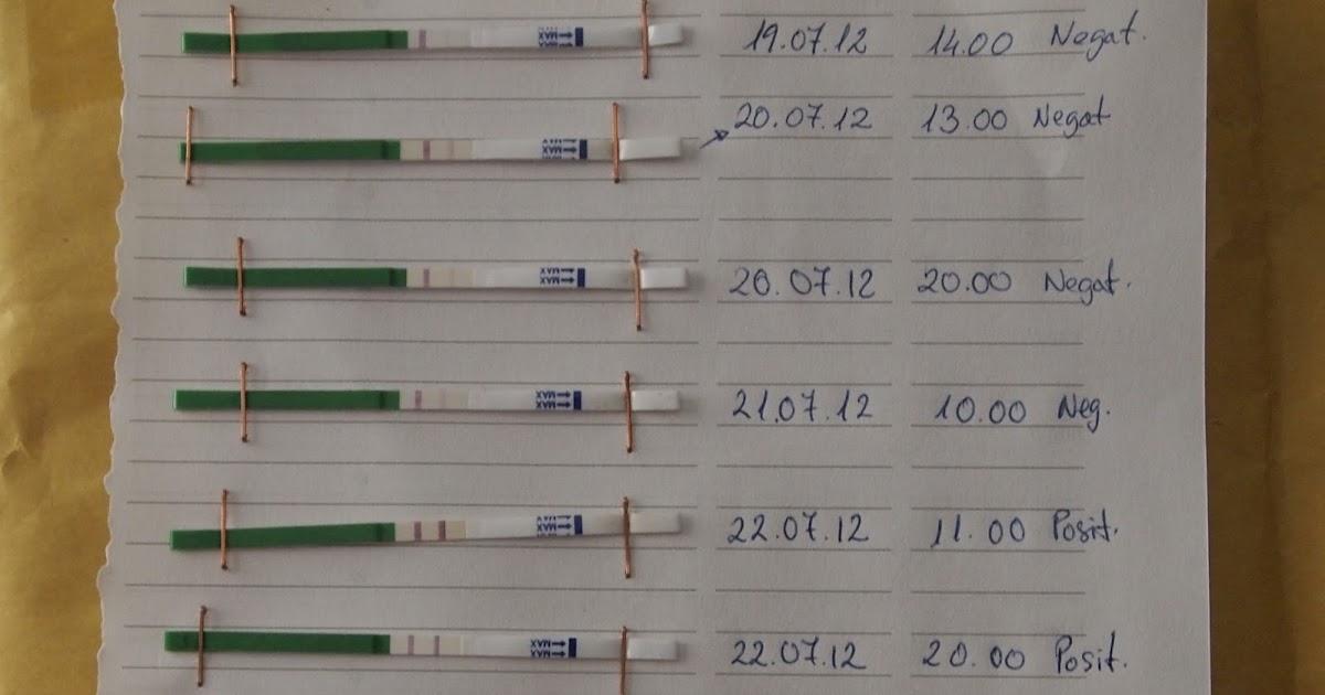 CON LA TETA HEMOS TOPADO: Test de ovulación y sorpresa