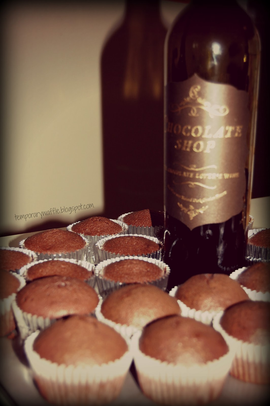 Red Wine Chocolate Mousse