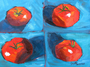 Tomatoes in Still Life
