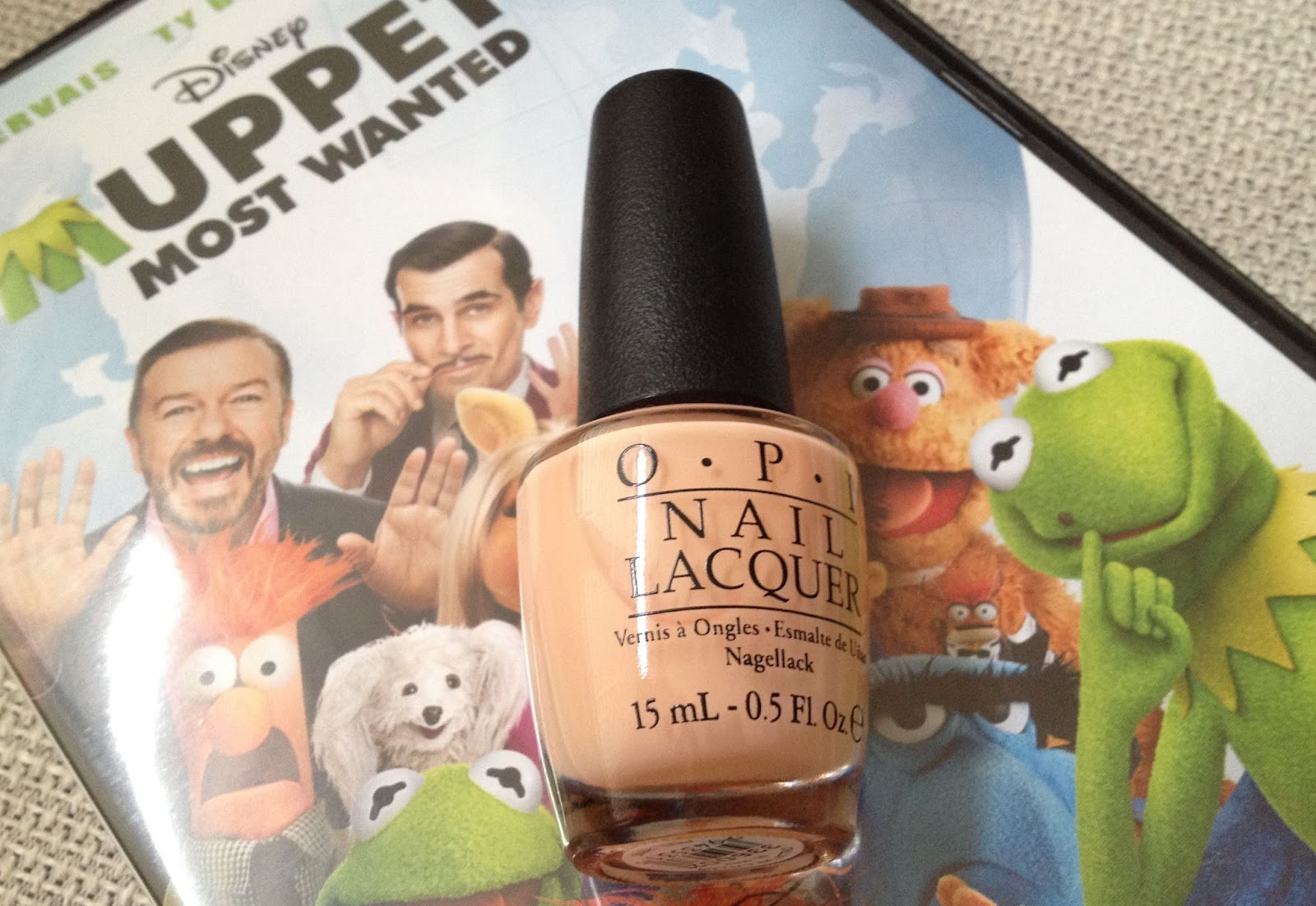 OPI Chillin Like a villain nail polish muppets most wanted collection