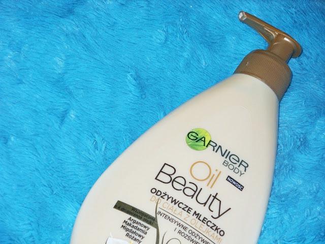 Odżywcze mleczko do ciała z olejkami Oil Beauty, Garnier