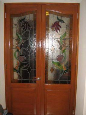 Fotos y dise os de puertas puertas madera exterior for Puerta que abre para los dos lados