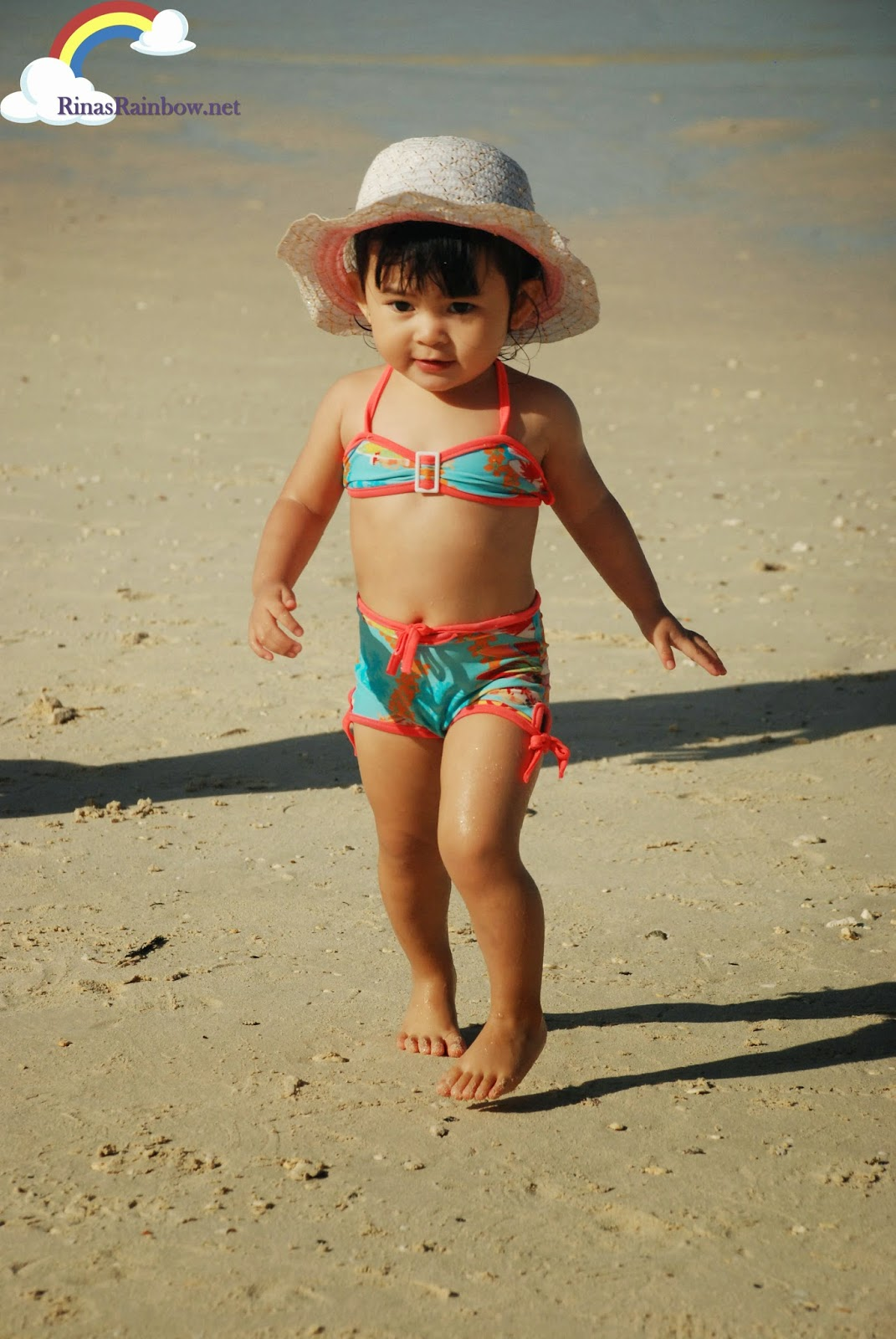 baby in swimsuit