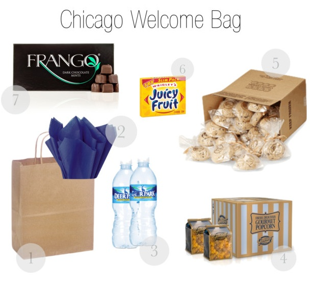 Wedding Welcome Bag Ideas Chicago : Welcome to Chicago?We re So Glad You re Here
