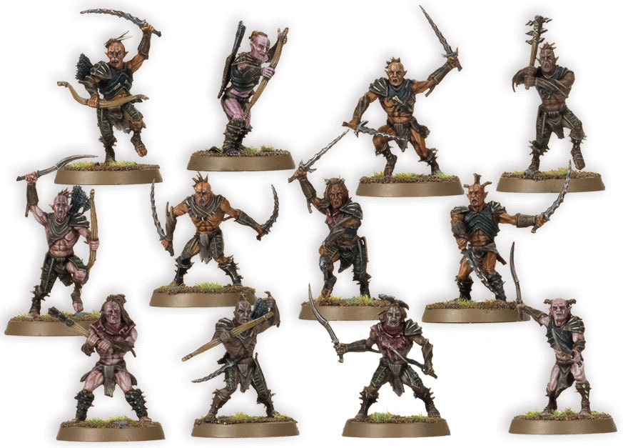Battleground hobbies new release the hobbit trolls hunter orcs and