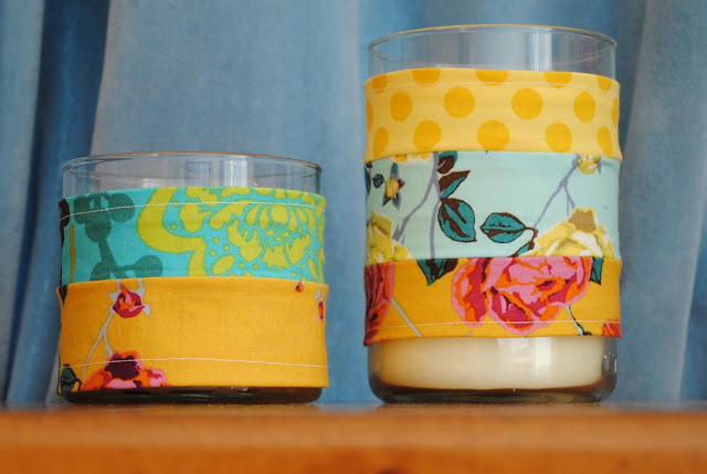 Fabric Candle Wrap