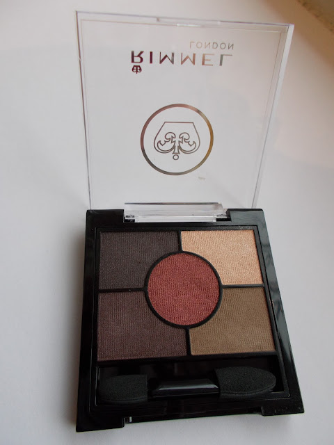 Rimmel London Glam Eyes HD palette in Brixton Brown