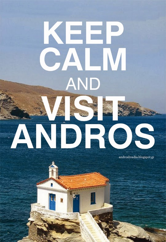 Keep calm and visit Andros