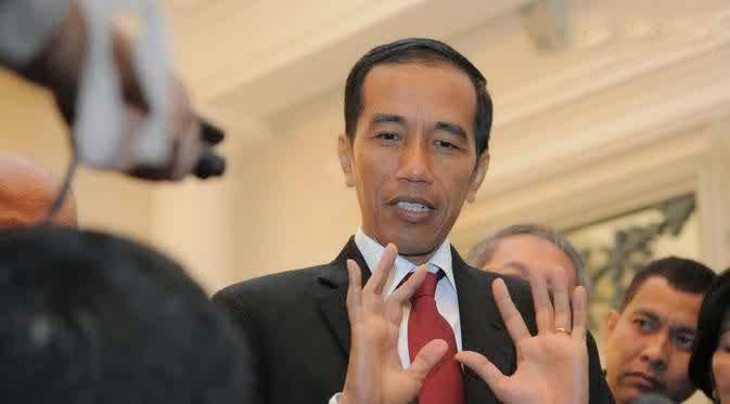 Presiden terpilih Joko Widodo