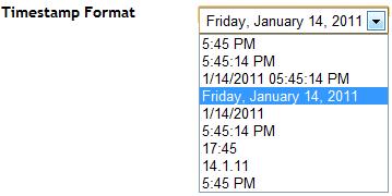 timestamp-format