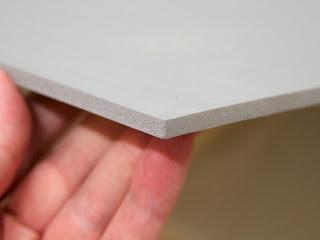 Pressure Sensitive Sintra PVC Board