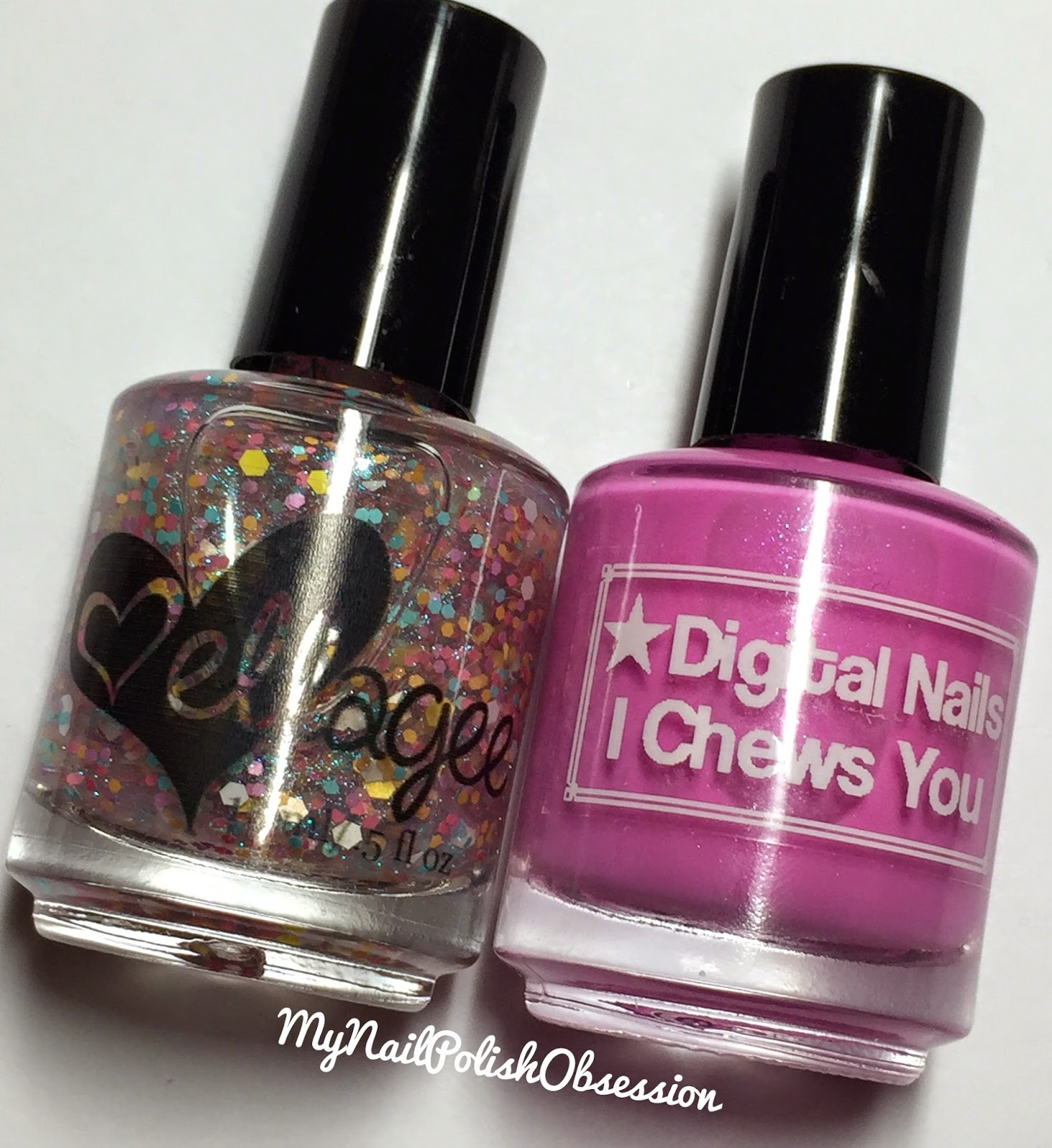 ellagee & Digital Nails Half Price Candy Day Duo: I Chews You & Secret Sugar Stash