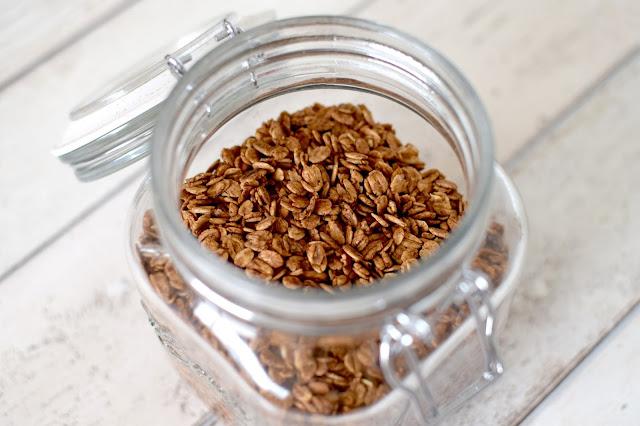 Homemade Healthy Cacao Granola Recipe