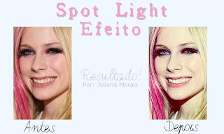 spot light efeito no photofiltre studio
