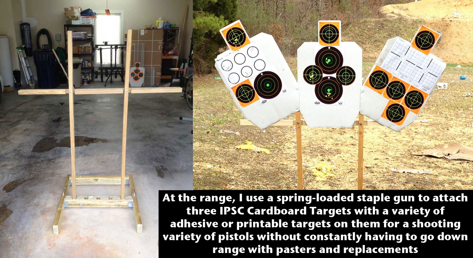 Firearm fun how to build a target stand for How to build a stand