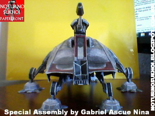 Star Wars All Terrain Tactical Enforcer Papercraft