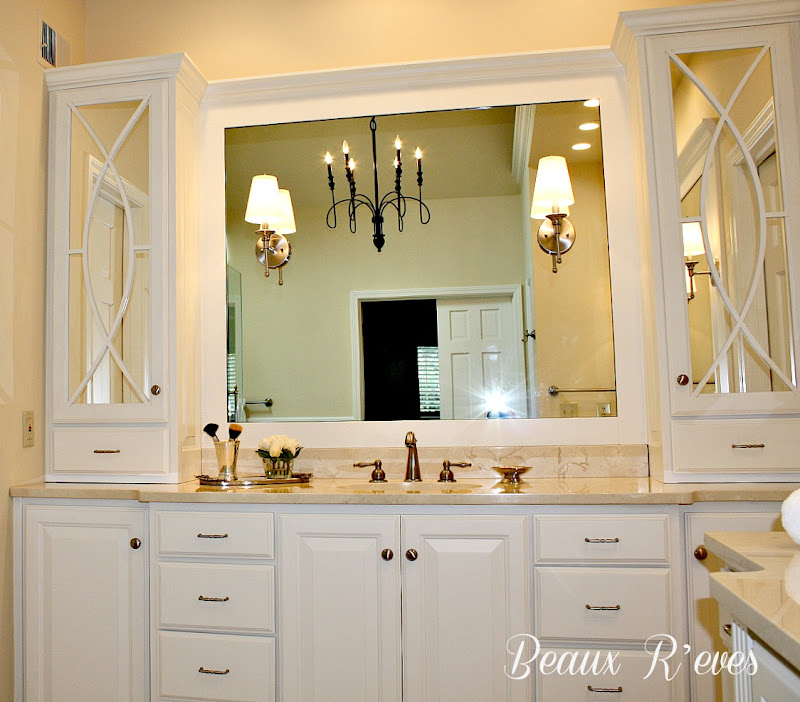 Beaux R'eves shared her bathroom remodel~ it is just simply gorgeous. title=