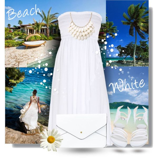 Total white look for summer. Visit www.forarealwoman.com #fashion #blogger