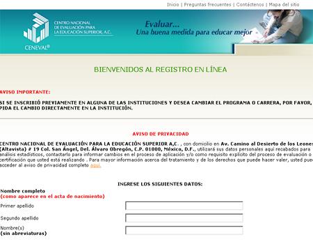 Tegistro PrepaSonora 2013 publicación registro 11 de marzo