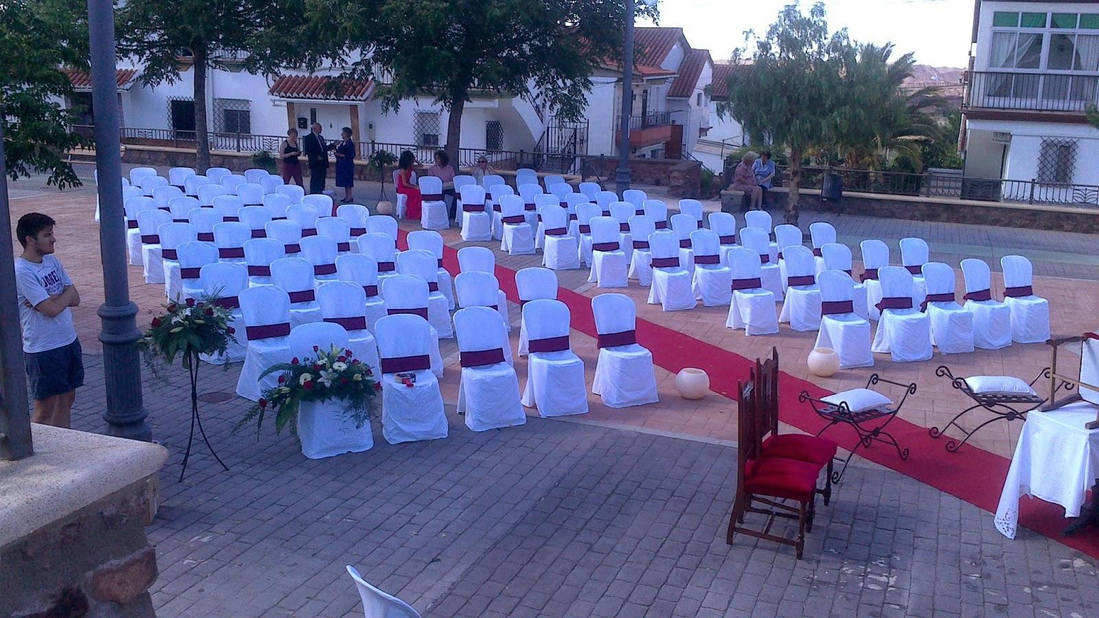 alquiler de sillas para boda en jaen