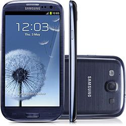 martphone Samsung I9300 Galaxy S III - Metallic Blue - GSM