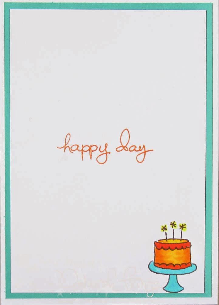 Happy Birthday inside - photo by Deborah Frings - Deborah's Gems