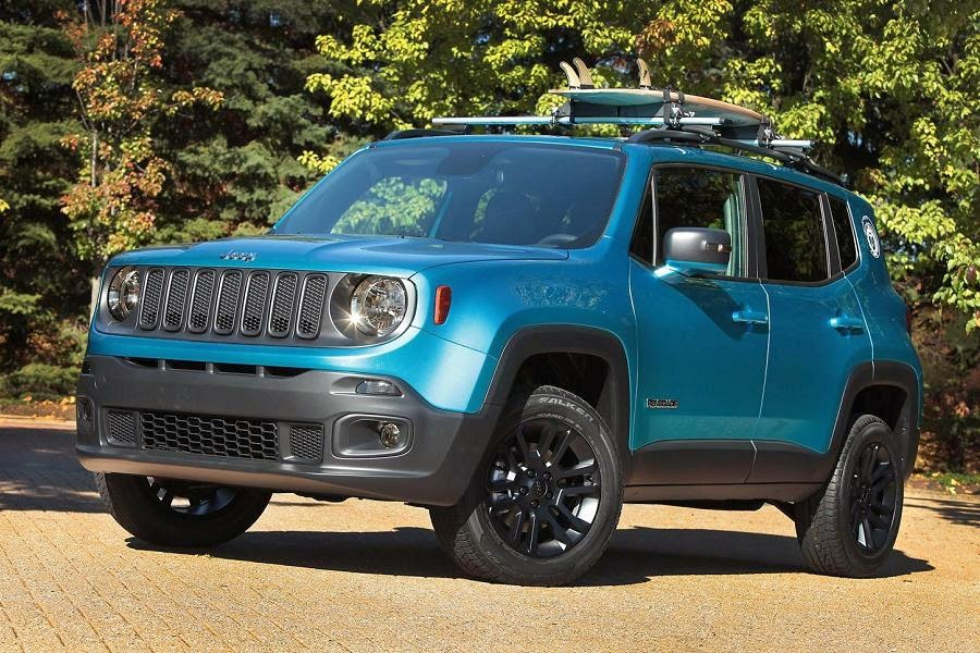 Jeep Renegade Riptide Concept (2015) Front Side