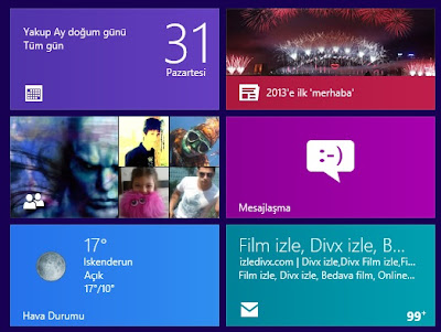 Windows 8 Can Kutucuğu