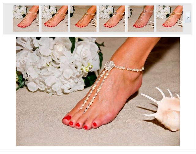 Unique Foot Jewelry