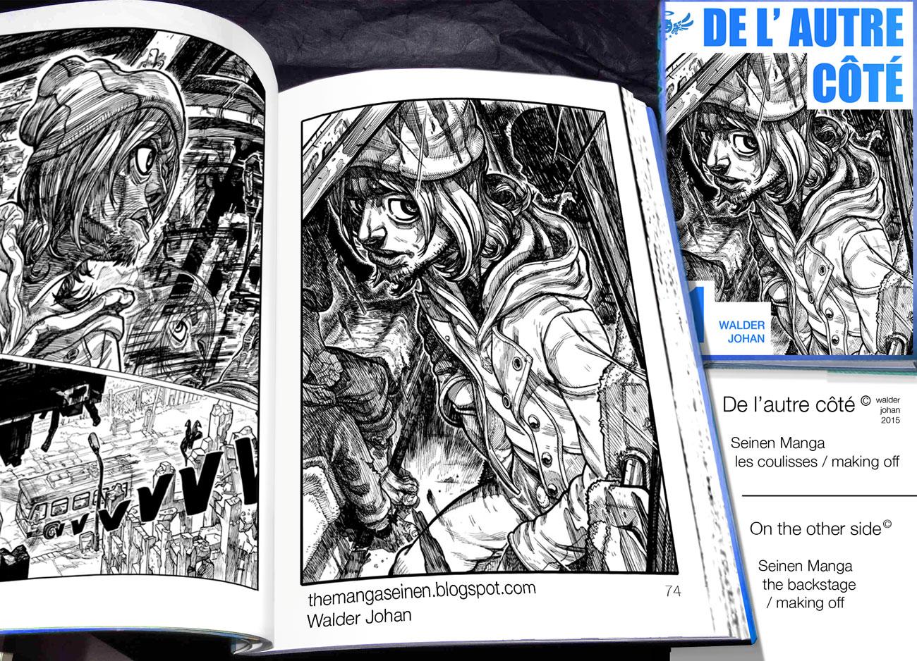 Spécial Blog - Mon nouveau Manga - futur livre