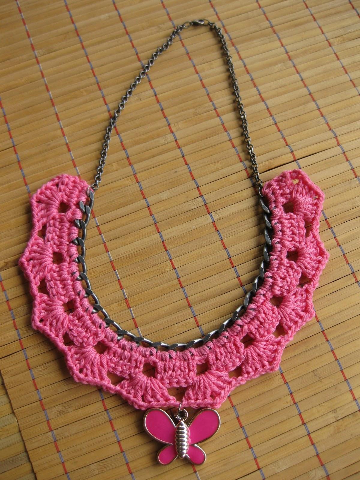 CREACIONES SUSANA: Collares de ganchillo