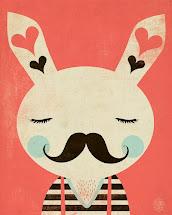 Le Lapin et le Moustache
