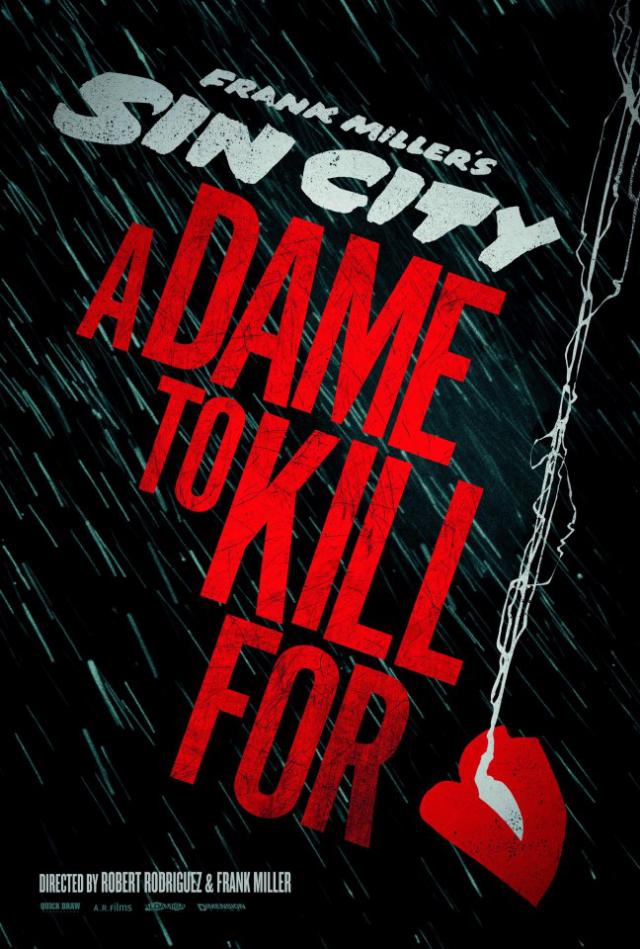La película Sin City: A Dame to Kill For