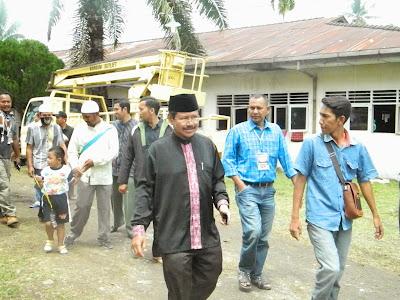 Kunjungan Jubir HTI Ke Pengungsi Rohingya di Kota Langsa dan Aceh Timur