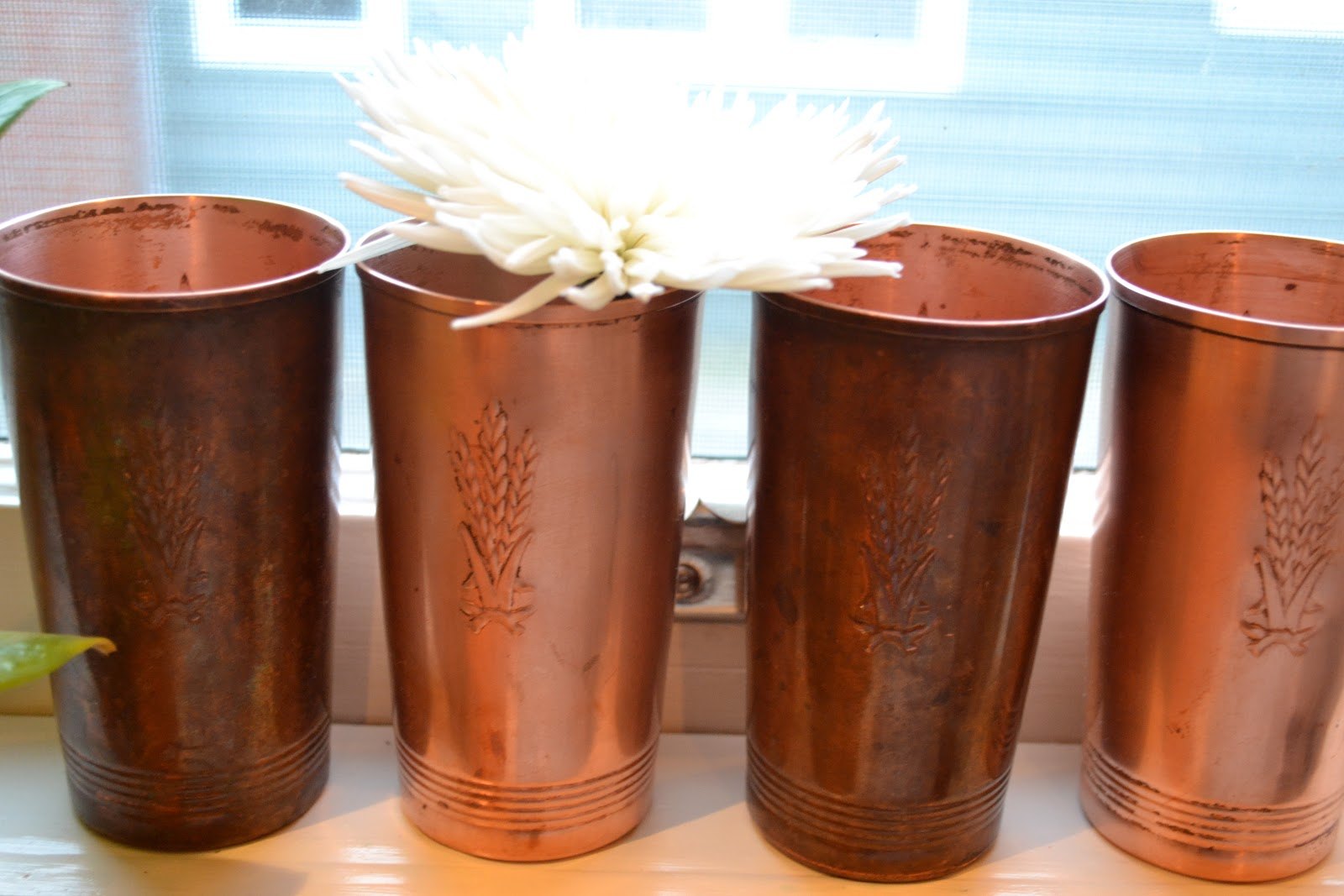 a home in the making renovate copper cups. Black Bedroom Furniture Sets. Home Design Ideas