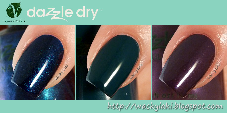 Wacky Laki: Dazzle Dry Evening Song, Stolen Kiss and Mythic Teal...