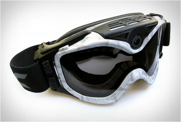 The Summit Goggles With HD Camera