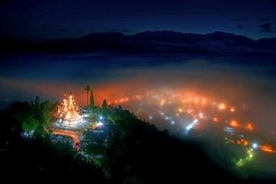 Ciudades conquistadas por la niebla - Wat Phra That Doi Kong Mu