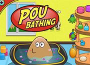 Pou Bathing