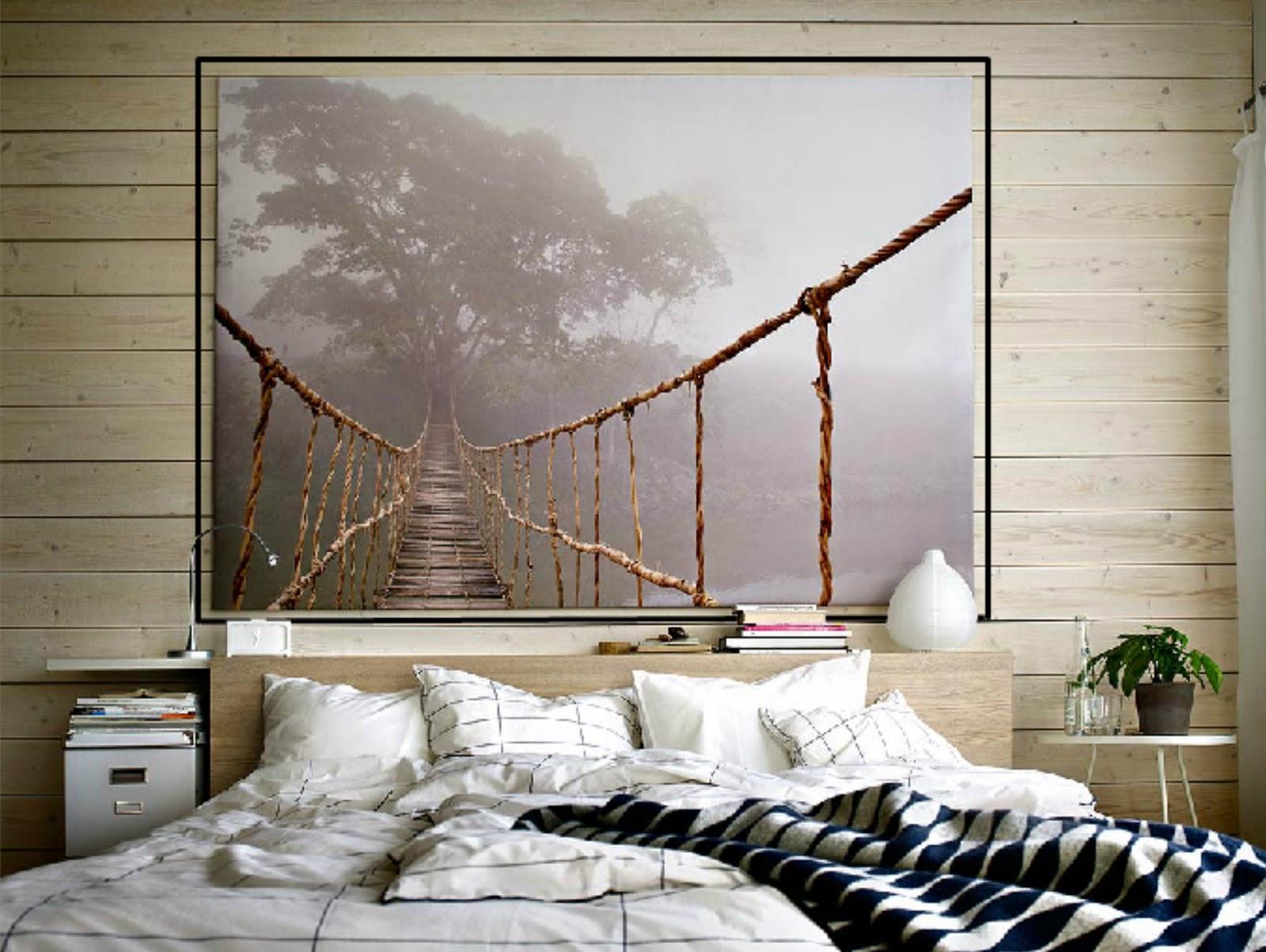 Ikea te ense a c mo colgar los cuadros en las paredes te - Ikea cuadros grandes ...