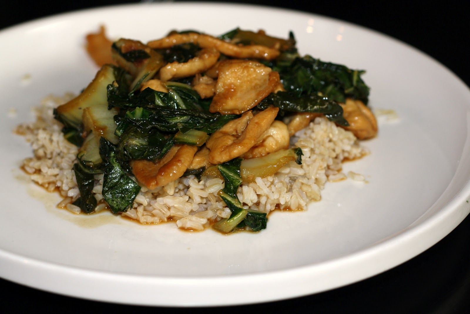 Bok Choy Chicken Recipe — Dishmaps
