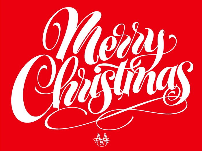 The Art Of Hand Lettering Merry Christmas