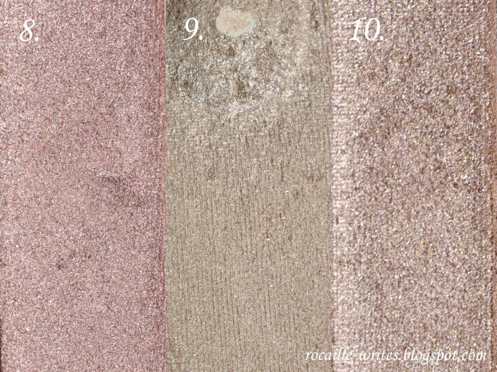 rocaille writes rocaille swatches ten taupe eyeshadows. Black Bedroom Furniture Sets. Home Design Ideas