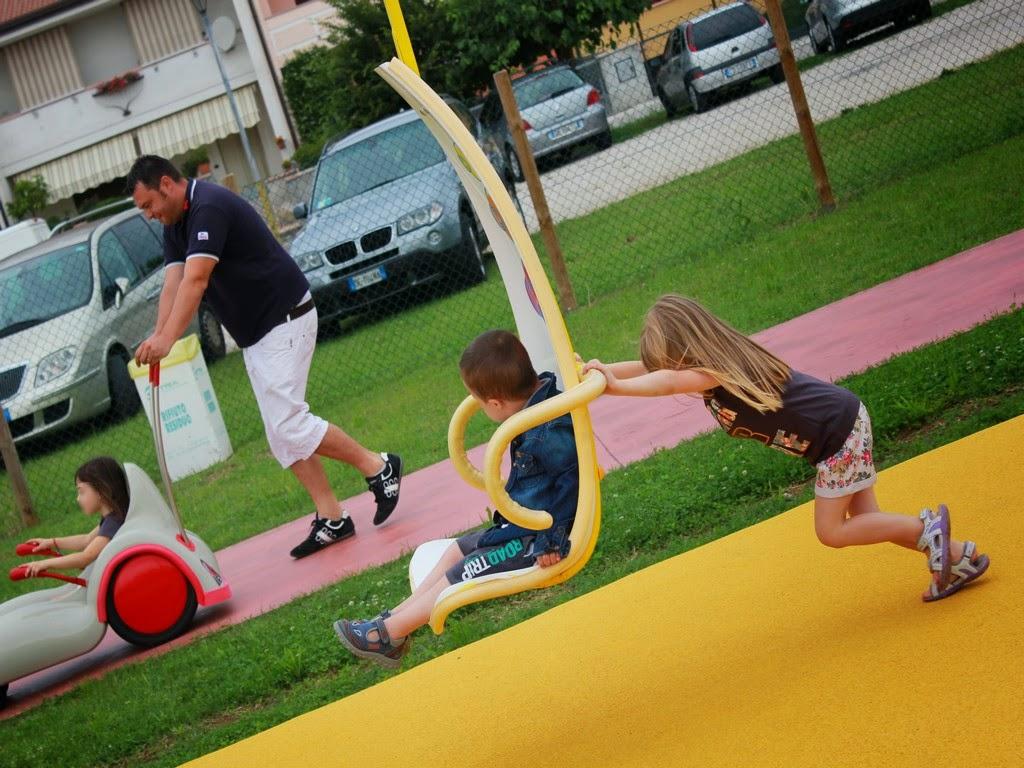 Très Foto parco giochi inclusivo a Fontaniva - Parchi per Tutti EX93