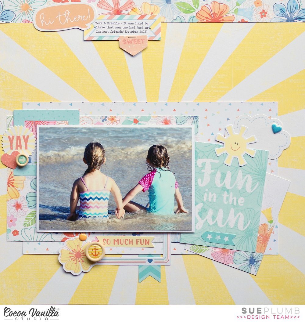 Look into my life: Hello Sunshine for Cocoa Vanilla Studio