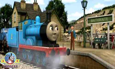 Thomas and friends Charlie and Eddie train are proud too work on the Fat Controller railway line