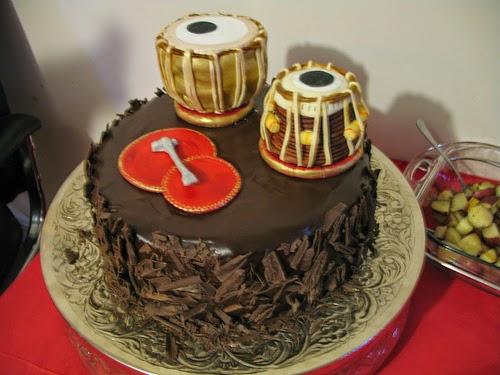 Happy Birthday Djembe Cake