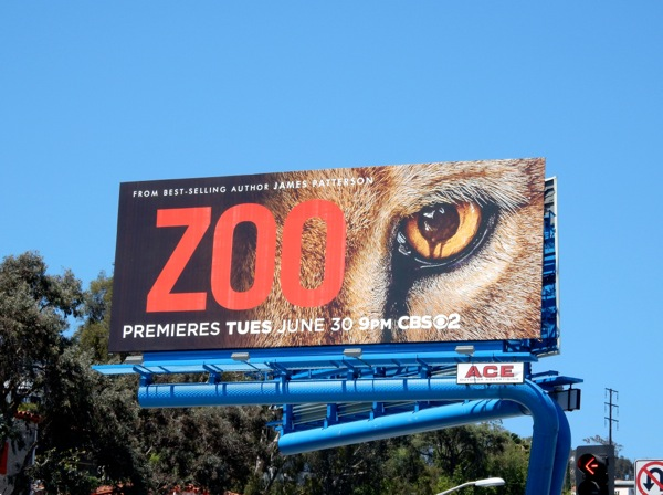 Zoo season 1 billboard