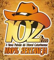 ouvir a Rádio 102 FM 102,1 ao vivo e online Itajaí SC
